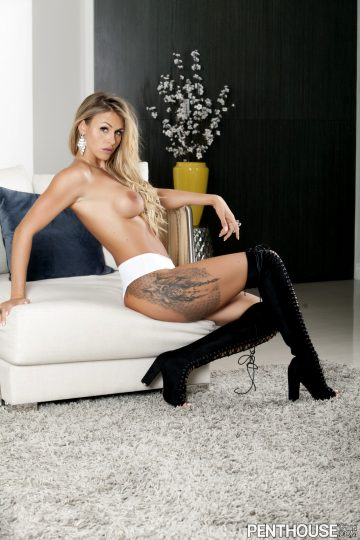 Penthouse Ella Silver – Pet Of The Month November