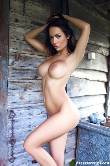 Playboyplus – Adrienn Levai Outside Nude