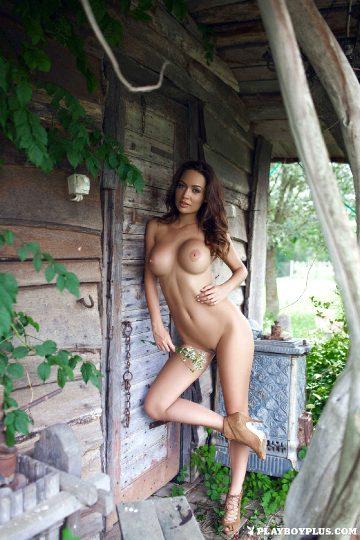 Playboyplus – Adrienn Levai Outside Nude
