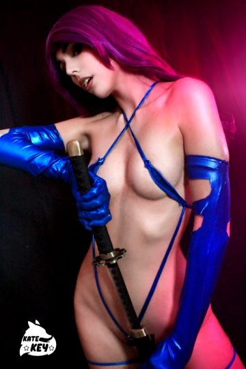 Psylocke Erocosplay By Kate Key ❤️ 🦋