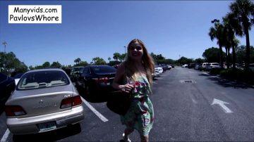 Public Cum Walk At The Mall – Cloe Palmer