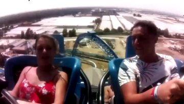 Roller Coaster Boobs Out