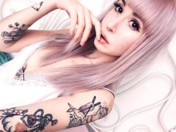 Rose Hair & Japanese Tattoos