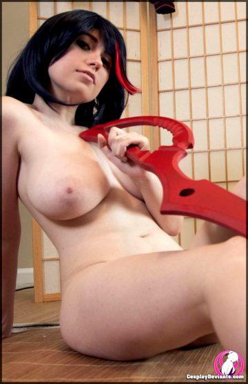 Ryuko Matoi By Unknown Cosplayer