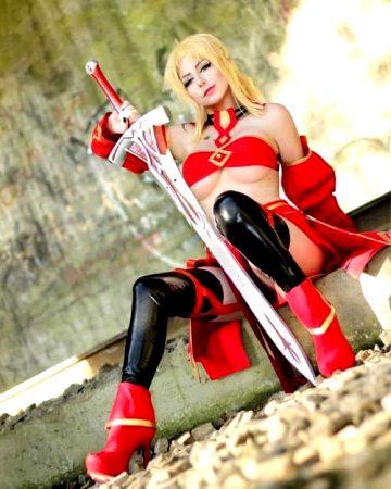 Saber Of Red By Giu Hellsing