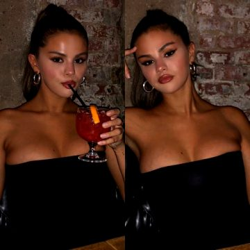 Selena Gomez Busting Out