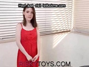 Shy teen redhead wants rough sex for the first time!