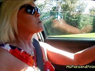 Smoking, Revving and Masturbating On The Road
