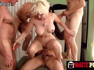 Smut Puppet – Mature Sluts Getting Gangbanged Compilation 2