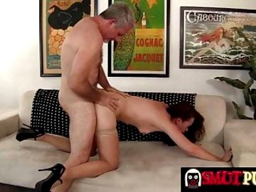 Smut Puppet – Older Redhead Sable Renae Doggie Compilation 1