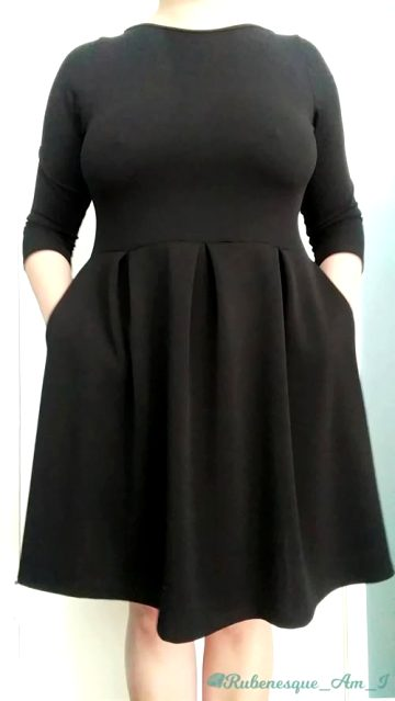 Some Of You Wanted To See Some More Of My Little Black Dress. Enjoy Yourself A Drop And A Reveal