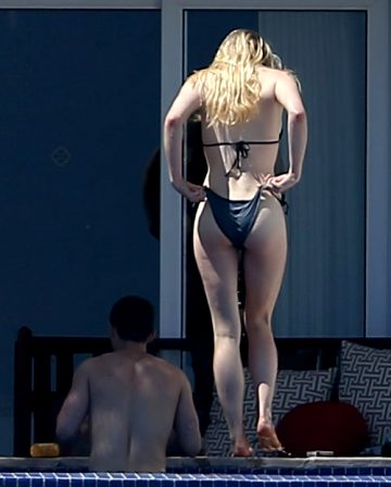 Sophie Turner – First Time In Bikini