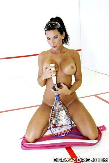 Squash Game Pound-a-thon – Lezley Zen – Big Tits In Sports