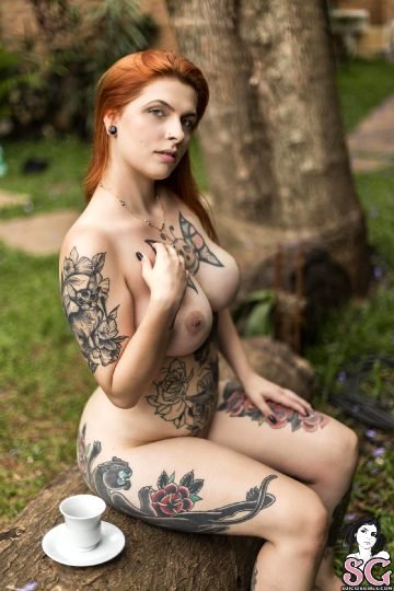 Suicidegirls Bordini – Coffee Time