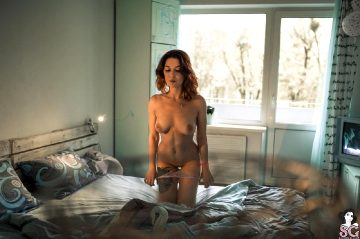 Suicidegirls Inngrin Cloudy Morning Set Of The Day