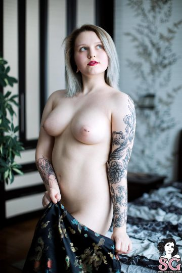 Suicidegirls Redkaya Take Me To Asia