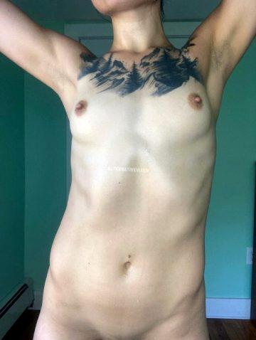 Sweaty Nude