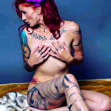 Tatted Redhead