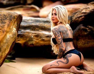 Tattooed Katia