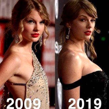 Taylor Swift 10 Years Apart