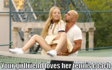 tennis coach cheat