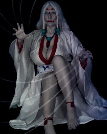 Tenshi As Mother Spider Demon, Kimetsu No Yaiba