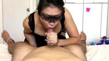 The Best Way To Finish Off A Handjob!