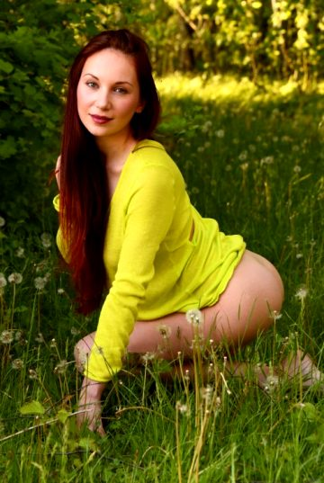 The Most Delicious Redhead Eva M For Femjoy – Great Figure, Fabulous Naturals – Enjoy