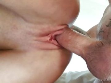 The stepmother saddled dick of the Step-son and felt sperm