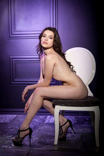 Thelifeerotic Serena Wood – Lavender Lover
