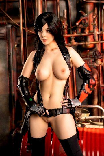 Tifa LockHeart By Helly Von Valentine