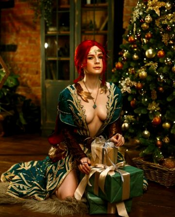 Triss Under The Christmas Tree By Christina Cosplay