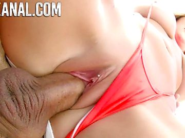TRUEANAL Voluptuous Savannah Bond gets an anal creampie