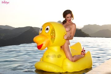 Twistys Emily Addison Emily Is Just Ducky