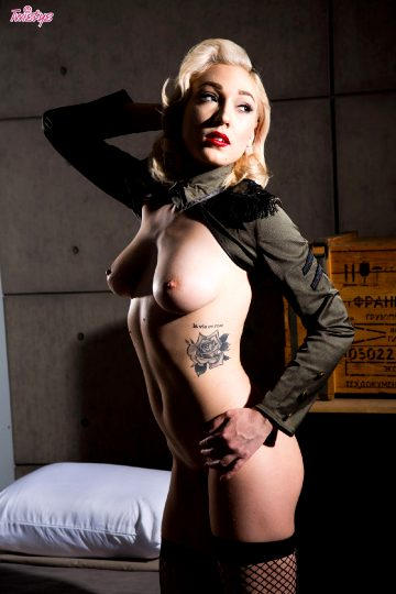 Twistys Lily Labeau At Ease Soldier