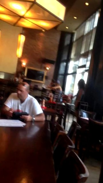 Unexpectedly Streamed At A Restaurant
