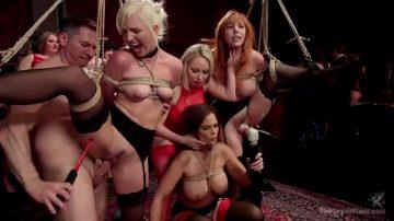 Upperfloor Orgy