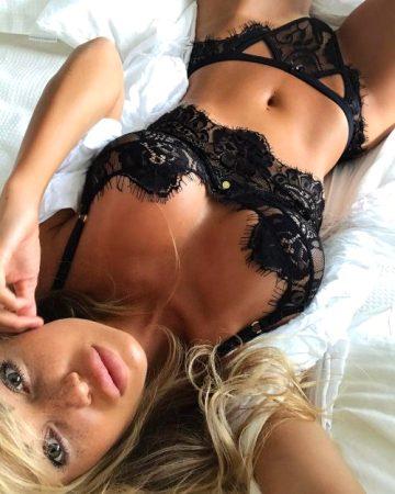 Viki-helga-galina-others – Abby In Black Lingerie