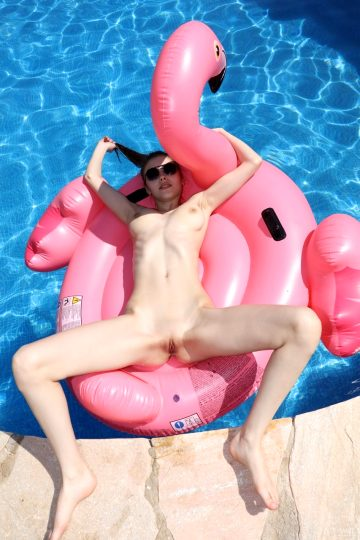 Watch4beauty Milla Flamingo