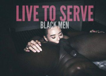 white serves black