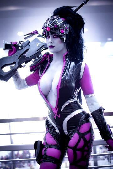 Widowmaker From Overwatch By Khainsaw