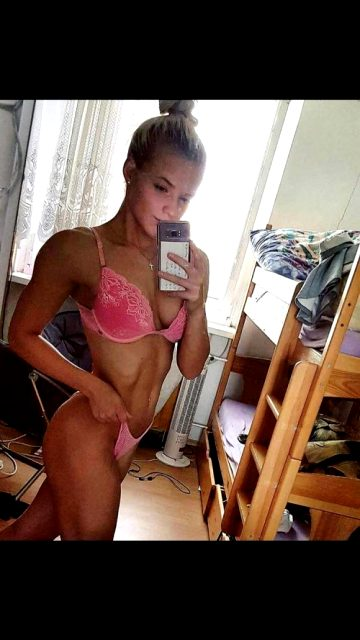 Young Alena From Czech Republic Is A Newcomer When It Comes To Competing. She Does Bikini
